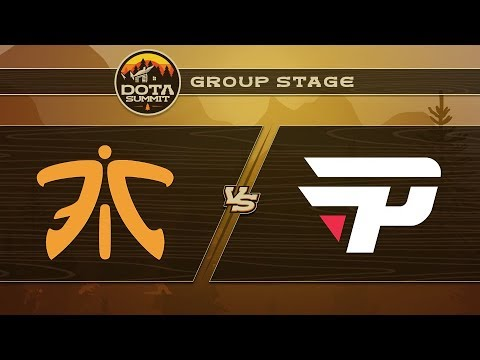 Fnatic vs paiN Game 2 - DOTA Summit 9: Group Stage
