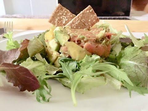 recette-healthy:-saumon---avocat---mangue