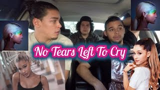 Ariana Grande - No Tears Left To Cry (REACTION REVIEW)