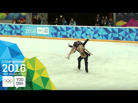 Figure Skating - Ice Dance Short Dance   Lillehammer 2016 Youth Olympic Games