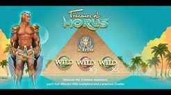 Online Slots - Treasure of Horus Slot - Free Spins