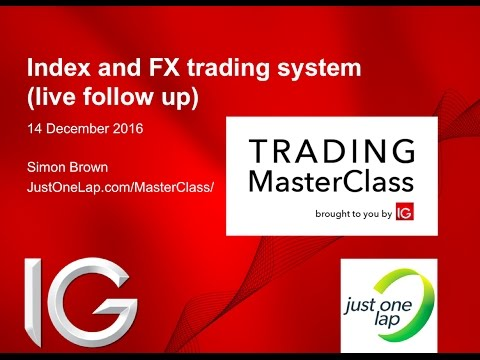 Lazy trading system for indices and FX (live follow up)