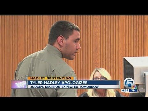 Tyler Hadley apologizes