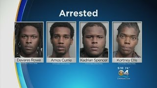 Four Charged In Liberty City Gang Rape Of Woman
