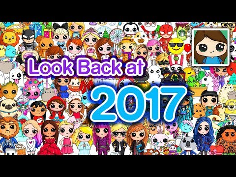 *-free-poster-*-look-back-at-2017-draw-so-cute