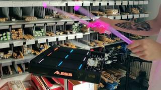 Alesis Strike Multipad + Firestix color change