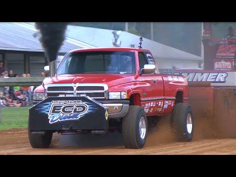 East Coast Pullers Pro Stock Diesel Truck Pull In La Plata, MD On July 19, 2014