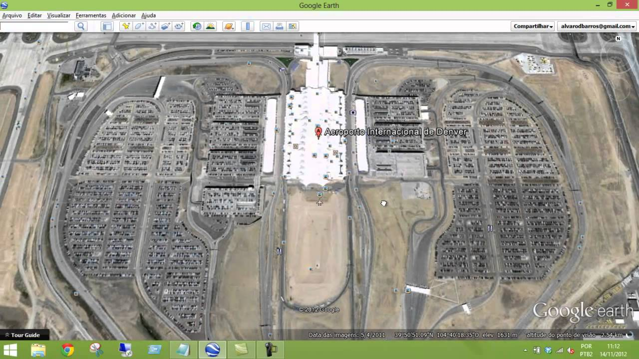 Aeroporto Denver : Aeroporto internacional de denver youtube