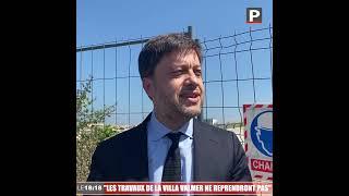 """Marseille : """"Les travaux de la Villa Valmer ne reprendront pas"""", annonce Benoit Payan"""