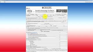 Filling BIR 2551qv2018 (no transaction)