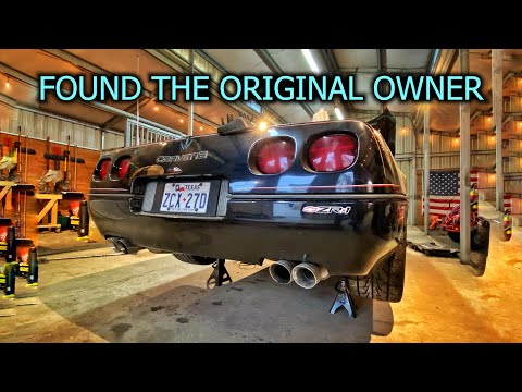 Rebuilding a Destroyed ZR1 Corvette Part 1