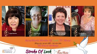 The Power Of Music - ReneMarie Stroke Of Luck TV Show May 23  900 AM