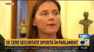 Claudiu Manda: A fost solicitat Secretariatului General al Senatului să sporească măsurile de sec