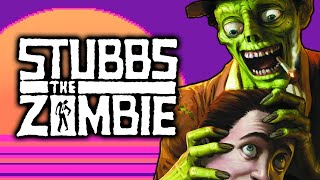 Itchy AND tasty! - Stubbs The Zombie