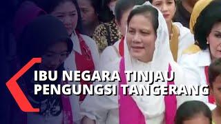 Gambar cover Temui Pengungsi Banjir di Tangerang, Ibu Negara Iriana Joko Widodo Beri Bantuan