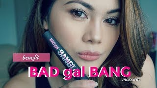 NEW BAD gal BANG Benefit Mascara Review/Demo; Is it worth it? ♥ | itsforeverCLO