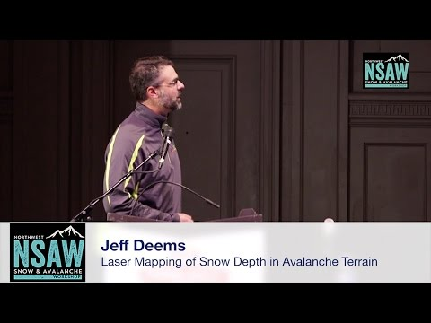 Jeff Deems: Laser Mapping Depth in Avalanche Terrain – Snow Variability and Operational Support