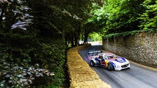 Mad Mike Whiddett blasts RADBUL up the Goodwood Festival of Speed Hill