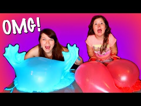 1 GALLON OF FLUFFY BANANA SLIME VS 1 GALLON OF RED VELVET SLIME | MAKING GIANT SLIMES WITH MOM!