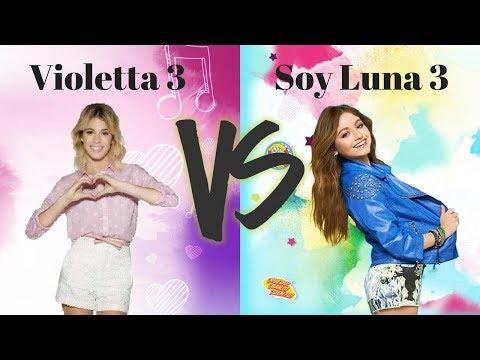 Soy Luna 3 vs Violetta 3 | Part 2 | Abracachasyde