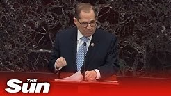 Jerry Nadler gives explosive speech in impeachment trial of President Donald Trump Impeachment