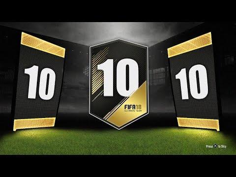 10x GUARANTEED TOTW PACKS! - FIFA 18...
