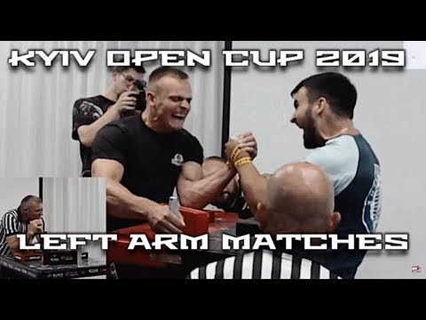 KYIV OPEN CUP 2019 LEFT ARM MATCHES I ARMWRESTLING 2019