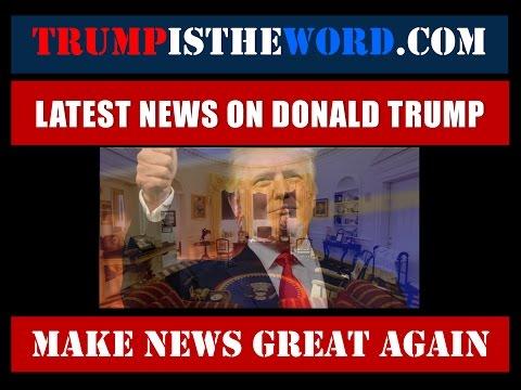 Trump News Report-January 22nd 2017