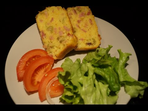 cake-jambon/olives/fromage