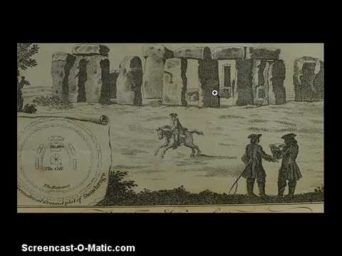 STONEHENGE IS FAKE OLD PAINTINGS PHOTOS PROVE IT