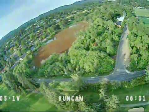 Фото First flight with the new FPV setup - TBS Unify Pro 32 + RunCam Phoenix Oscar Edition