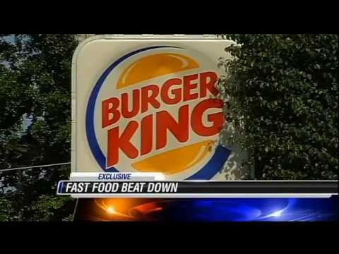 Burger King Employees Fight A Mom & Daughter IN A BURGER KING BEATDOWN!!!!!