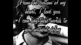 Stevie Wonder - From the bottom of my heart (lyrics)