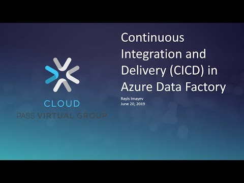 Continuous Integration And Delivery (CI/CD) In Azure Data Factory With Rayis Imayev