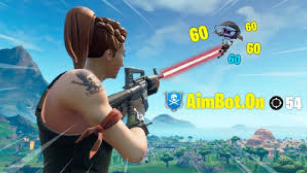AIMBOTING IN FORTNITE LIVE! JOIN THE DISCORD TO GET IT.