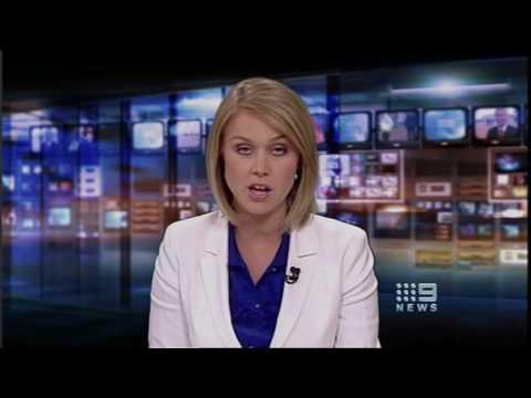 Xmas eve: Nine News presented by Jo Townsend