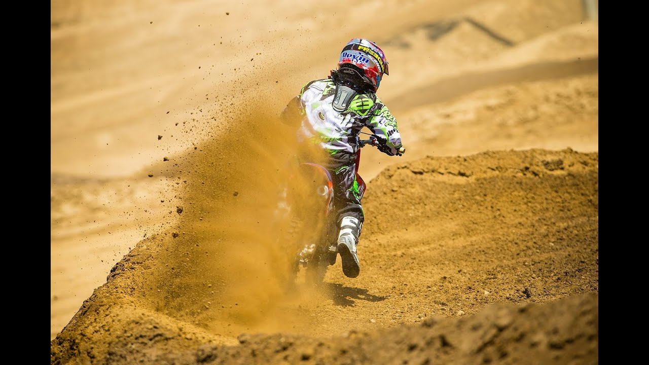 motocross dirt bike kid crashes bikes hard boy part