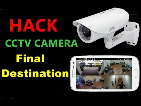 Hacking in Urdu class 1 Part 3- The final destination of CCTV hackers-Ethical Hacking Course in Urdu