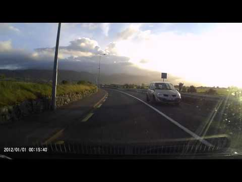 AUSDOM AD170 Car DVR Dash Cam Recorder 1080p Footage