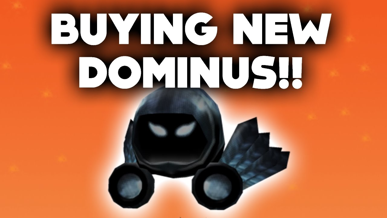 BUYING THE NEW DOMINUS ON ROBLOX... (31,000 ROBUX ...
