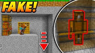 FAKE CHEST SKIN TROLL! - Minecraft SKYWARS TROLLING (CHEST GLITCH!)