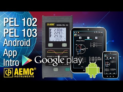 AEMC® - PEL App For Android™