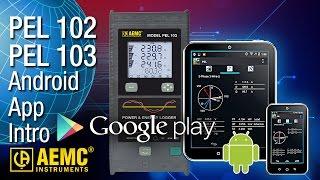 AEMC Instruments - PEL Android App