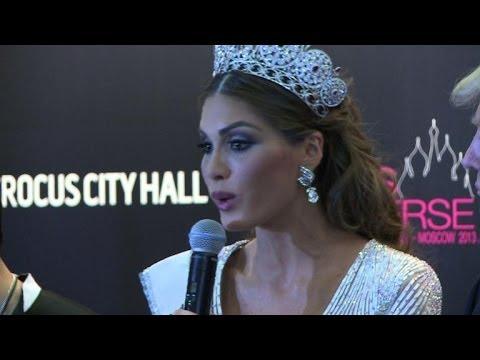 Venezuelan crowned Miss Universe in Moscow
