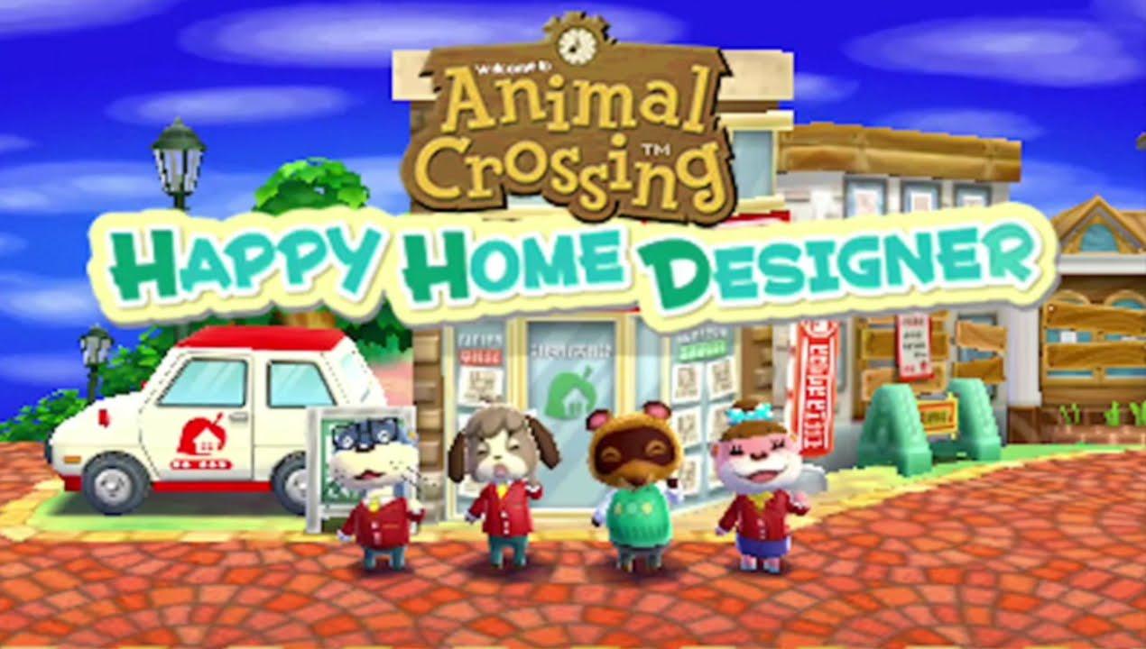 Animal Crossing Happy Home Designer 2015 Trailer Nintendo 3ds Youtube