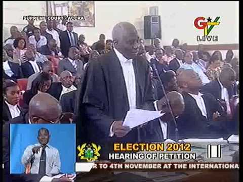 Tsatsu FULL oral address to the Supreme Court on the 2012 Election Petition!