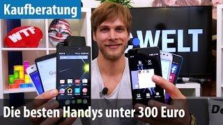 Die besten Smartphones unter 300 Euro (2015) | deutsch / german