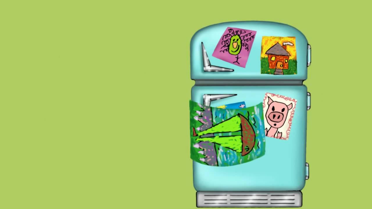 refrigerator art - YouTube