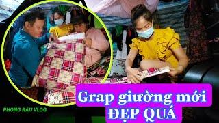 Bất ngờ VỢ CHỒNG KHỜ nhận Grap giường Siêu Đẹp từ PR