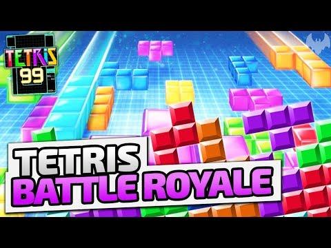 Tetris Battle Royale! - ♠ Tetris 99 #001 ♠ - Nintendo Switch - Dhalucard